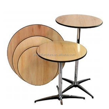 Durable PVC Foldable Round Folding Dining Table
