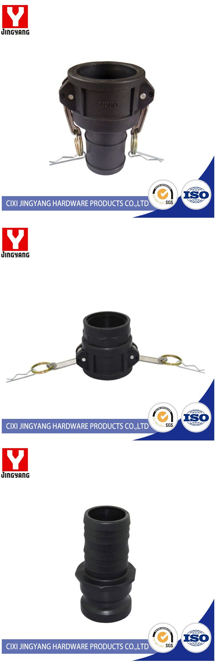 Durable & Colorful excellent camlock coupling