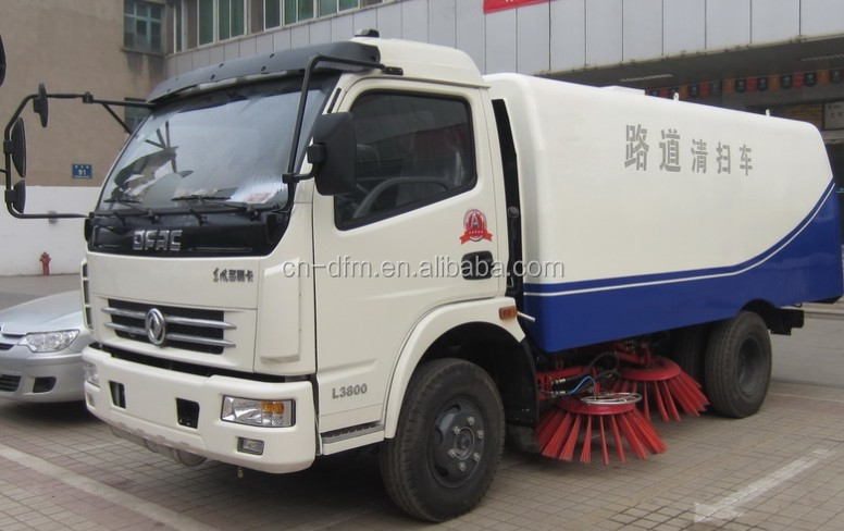 Dongfeng 5 cbm Road Sweeping Truck Manufacturer