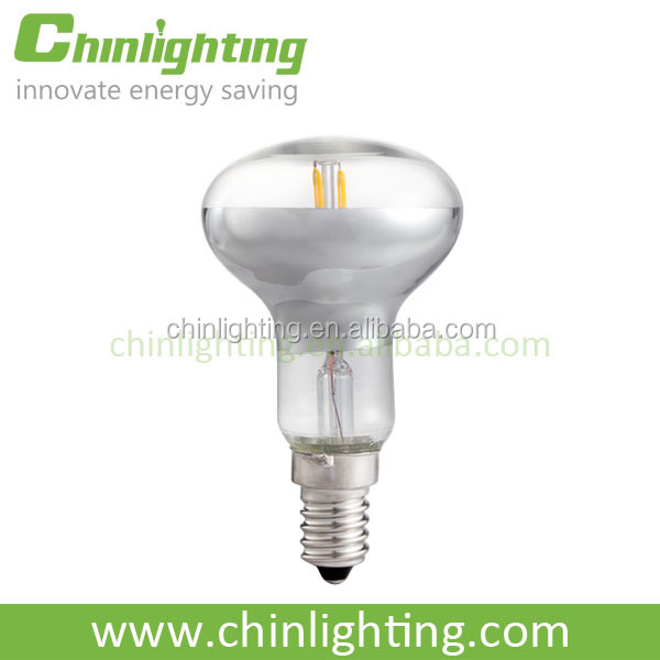 Decorative 180 degree led r shape filament bulb color temperature adjustable led filament lights led bulb