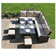 Elegant design L shape sectional Corner Sofa Set
