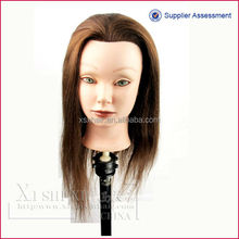 Blonde color alibaba com practcing doll straight hair various length ready to sell!