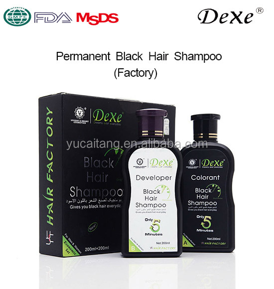 Name brand shampoo black hair color shampoo in hair dye