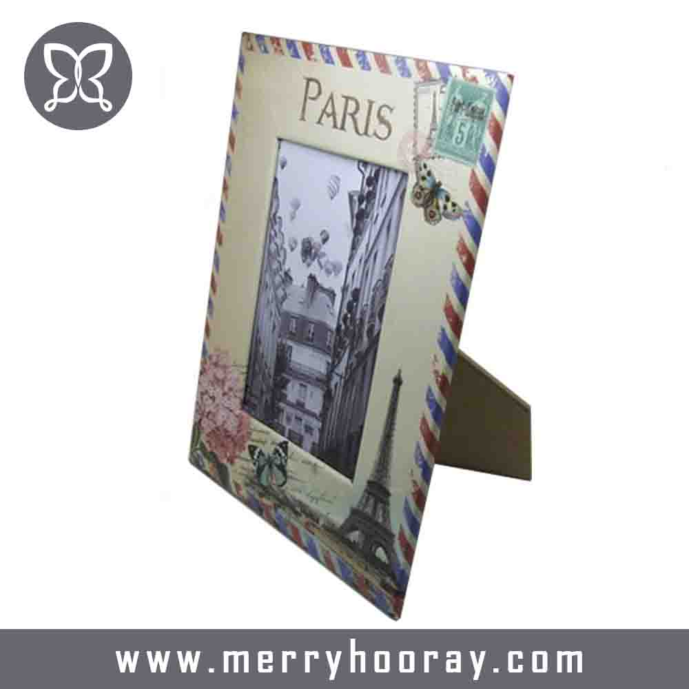 Customized paper material insert photo frame for sale