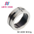 Hot sale wholesale fashion stainless steel power ring for men