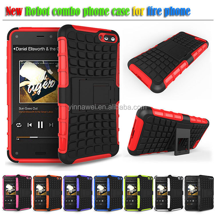 2014 hot selling Luxury robot phone case for amazon fire phone