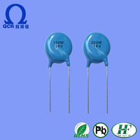 High Quality Safety Standed Recognixed AC. Rated Ceramic Capacitor 222k/ac capacitor 220v