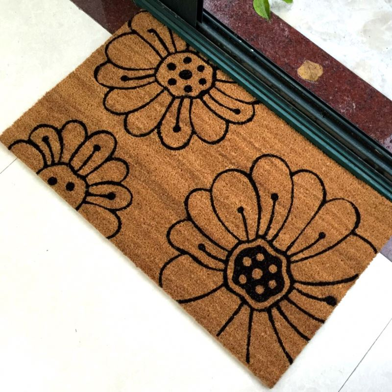 Oriental Environmental Friendly Natural Fiber Doormat