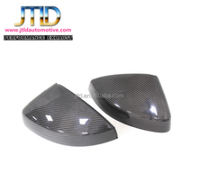Carbon Fiber Side Mirror Covers with Side Assistant Hole