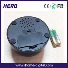 Hot trend popular customized sound and logo bell buzzer for birthday gift