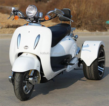 new style vespa 60V electric trike scooter for adult