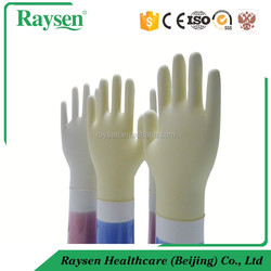 medical consumables sterile powdered free latex Glove best for importers and distributors