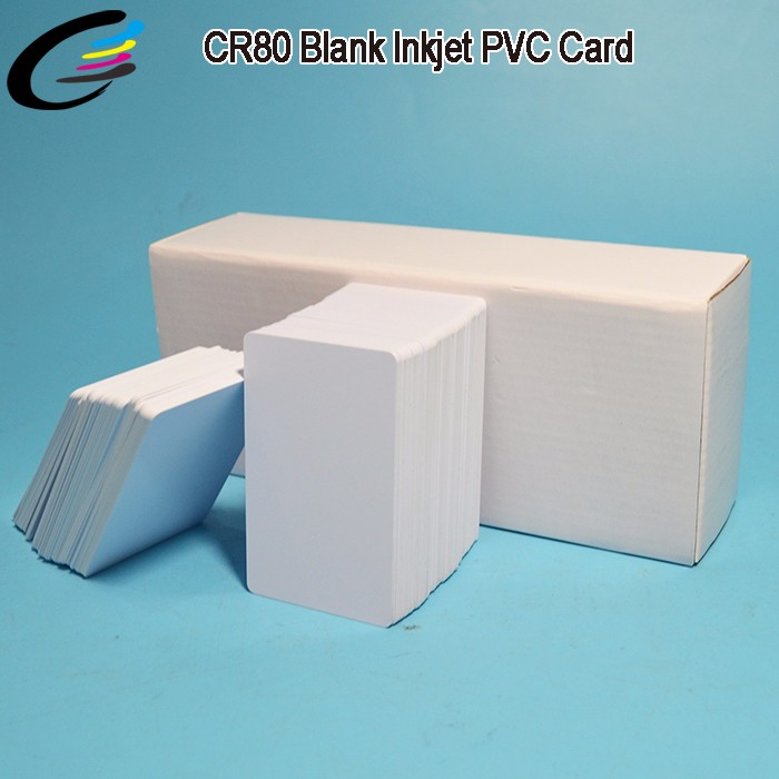 Full Color Waterproof Inkjet PVC Card Printing for Employee / Student / Business