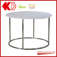 High Quality Modern Round MDF Tea Coffee Table For Chair