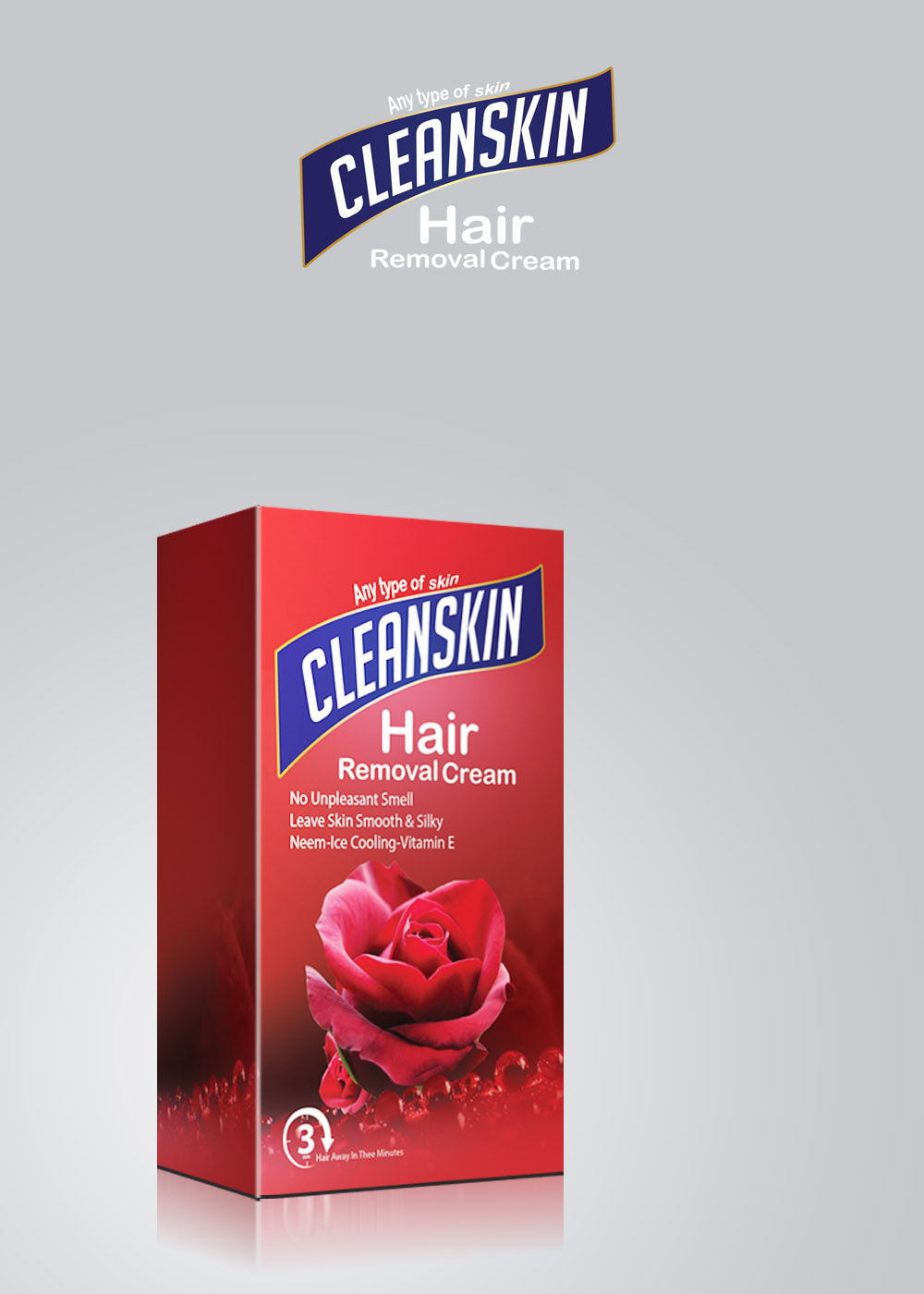 Clean Skin Rose Hair Remover Lotion
