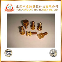threaded rod coupling nut brass pipe