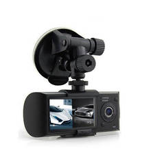 "2.7"" Two Lens X3000 GPS Dual Camera Car-DVR Firmware R300"