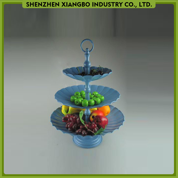 NEW Metal dessert service tray 3 tier cake holder