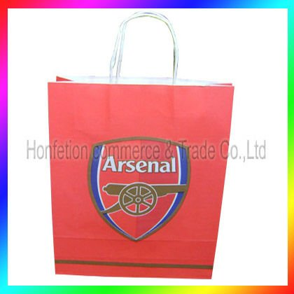 Newly customized Paper Carrier Bag with handles