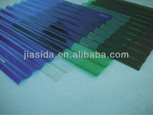 Corrugated polycarbonate sheet/ plastic roofing sheets/sunroom roof
