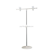 Retail table promotion holder metal poster display stand