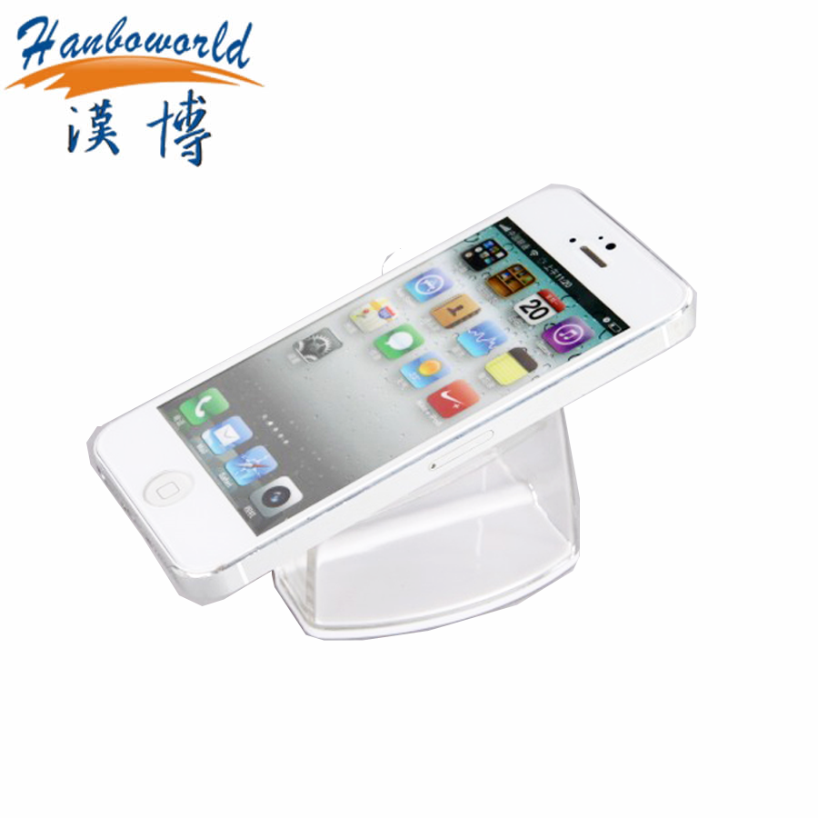 retail store cell phone exhibition Transparent phone holder