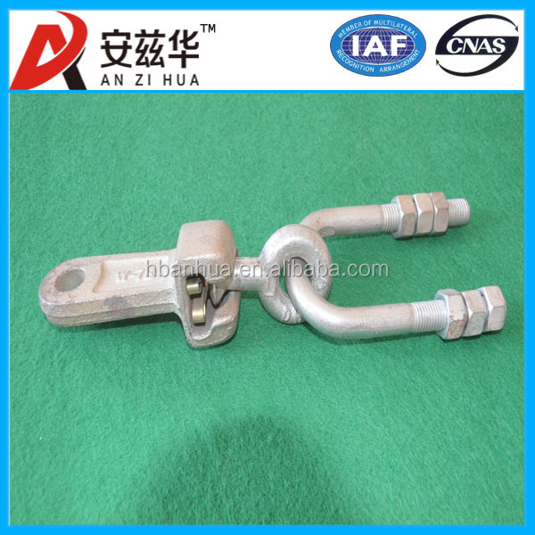 top quality socket clevis /Ball eye /U-bolt with nuts from factory