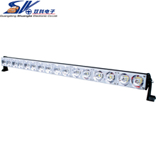 Factory direct selling 42 inch DC12-24V 320w SUV COB led flash work light bar with remove controller