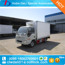 1500kg JAC mini refrigerated truck refrigerated van
