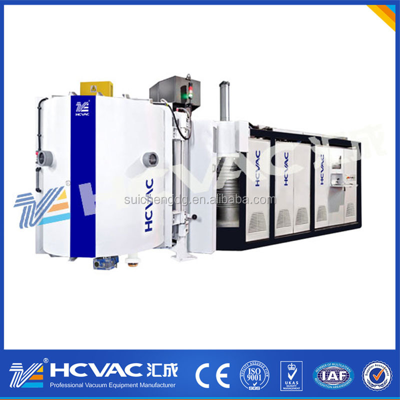 Plastic Auto parts pvd vacuum coating machine/car parts chrome coating machine/car accessories aluminium coating equipment