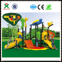 Animal shape cool outdoor play equipment, day care center playground equipment, discount outdoor toys QX-048A