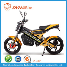 DYNABike KNIGHT-X2 factory direct supply hidden battery moped motorcycle with rubber tire