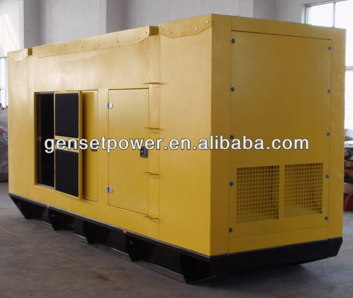 44kw to 880kw Generator Soundproof Shanghai With Cummins Engine