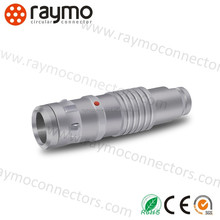 customized 9 pin circular push pull electrical audio camera connectors cables RM-FGG-0K-309 plug with shielding cable