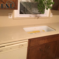 Artificial Beige Quartz Stone Kitchen Countertop