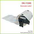 Compatible die-cut Thermal Paper DK-11240 Sticker Labels DK11240 for Brother 102MM*51MM Black on White