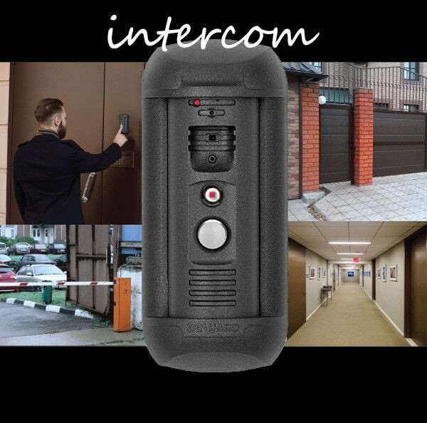 1.3MP Vandalproof IP 65 SIP PBX IP intercom front door phone system