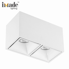 5years warranty rectangular led double heads 10w*2 ceiling downlight