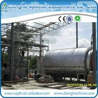 convert waste tire to fuel oil with 6 to 20 ton per day CE ISO tyre recycling machine waste tire to diesel oil