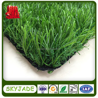 Triple Colors Landscaping Artificial Grass For