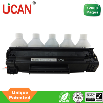 Factory supply high yield 12000 pages q2612a compatible hp printer cartridge