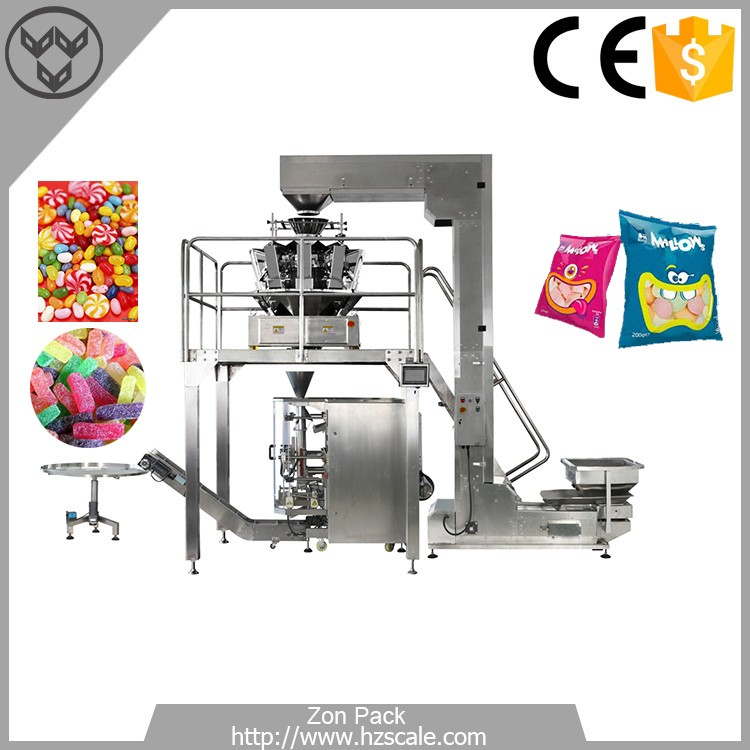 Hot selling caramel candy wrapping packing machine