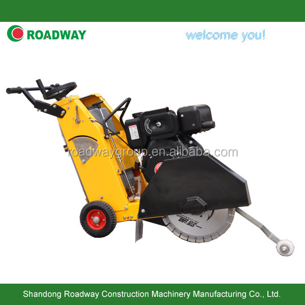 Road concrete cutter machine