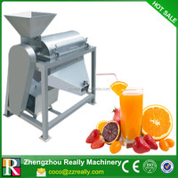 High Efficiency Tomato Paste Processing Machine/Single Screw Stainless Steel Apple Juice Making Machine