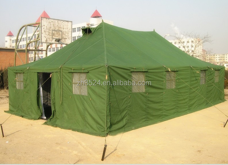20 man waterproof army canvas tent