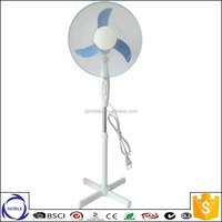 Guangzhou factory 16'' 18'' 3 blades cross base stand fan spare parts