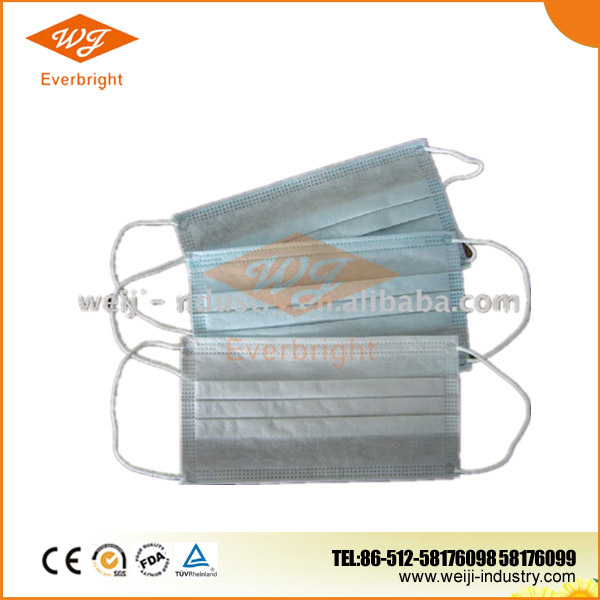 Nonwoven medical mask face decorative for hospitals