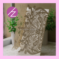 chinese wedding card custom gift card wedding favor cards with luxury gold 250g good quality pearl paper assorted colours