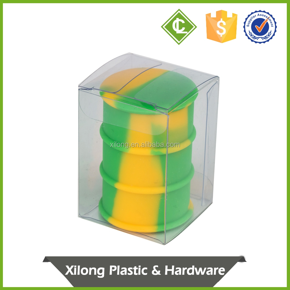 very small transparent plastic boxes for gift