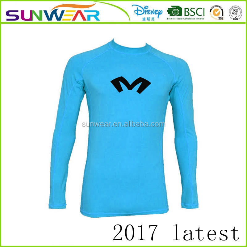 Latest Men's Long Sleeve MMA Rashguard - Black/White